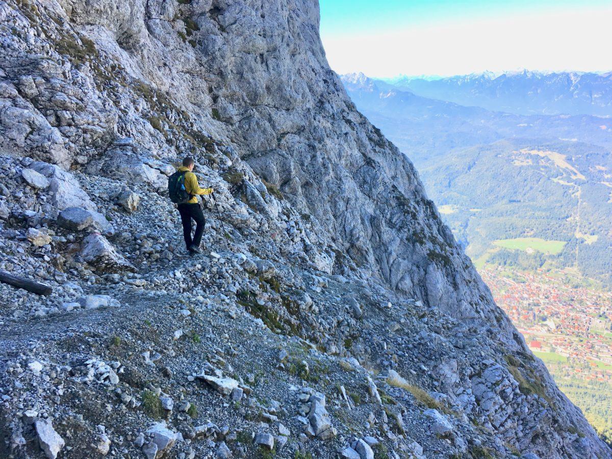 Abstieg zur Mittenwalder Hütte