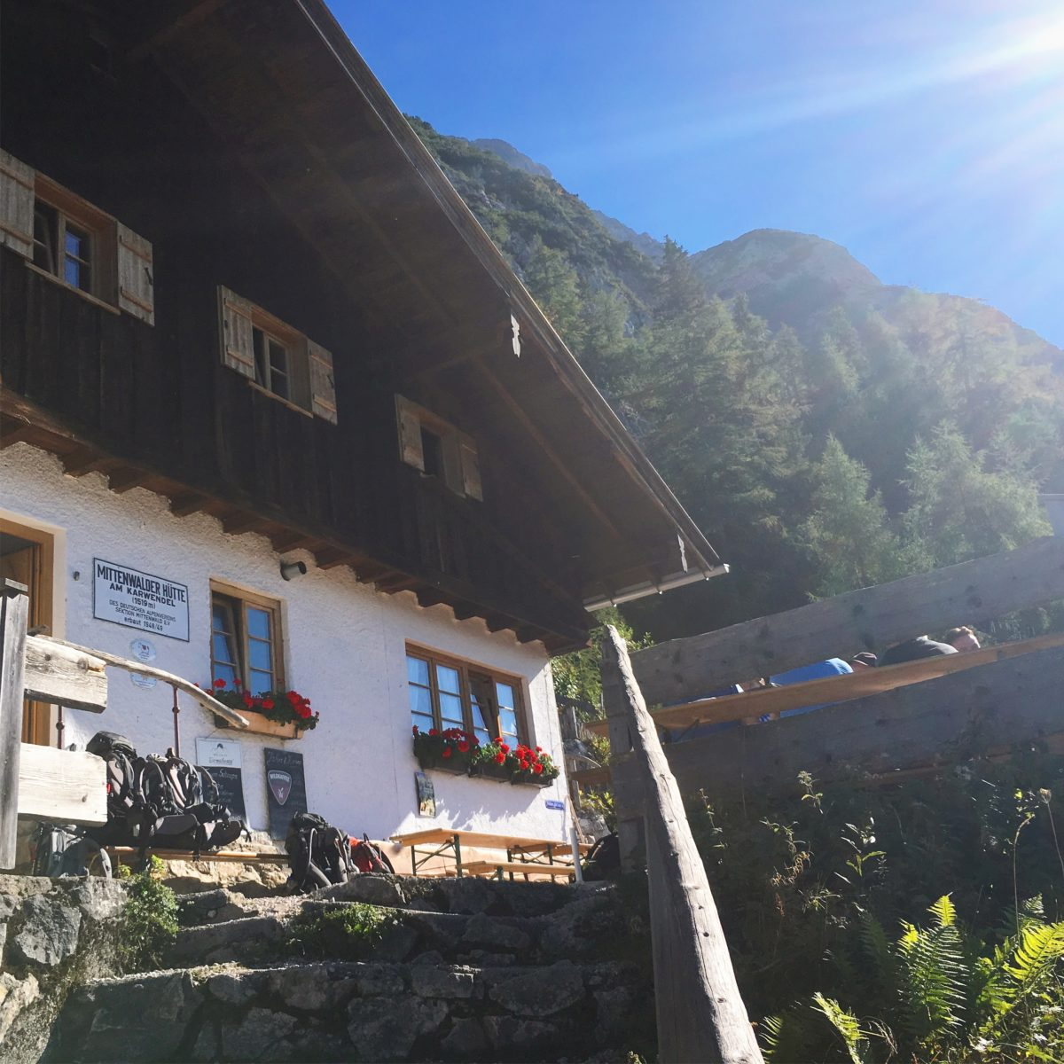 Die Mittenwalder Hütte