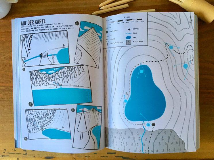 Berge! Das Mitmachbuch für Gipfelstürmer - Piotr Karski - Moritz Verlag