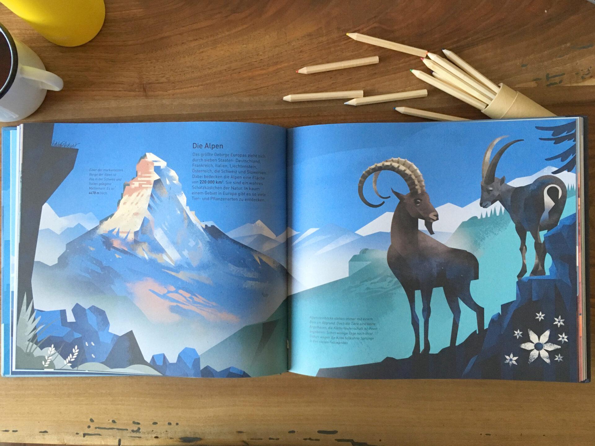 Die Welt der Berge - Dieter Braun - Knesebeck Verlag