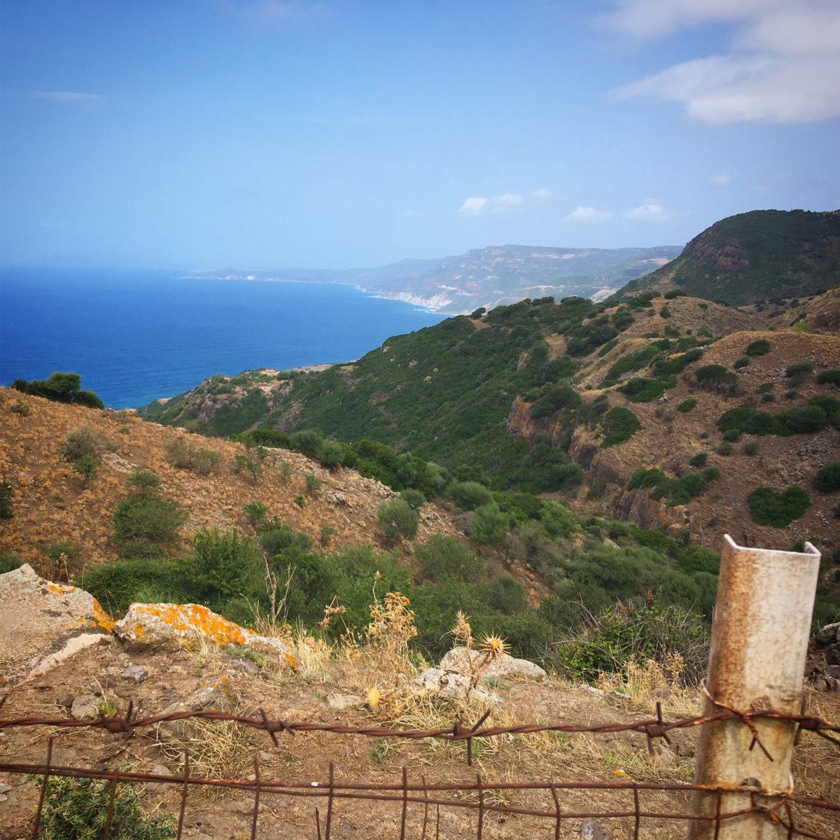 Küstenstrasse zwischen Alghero und Macomer
