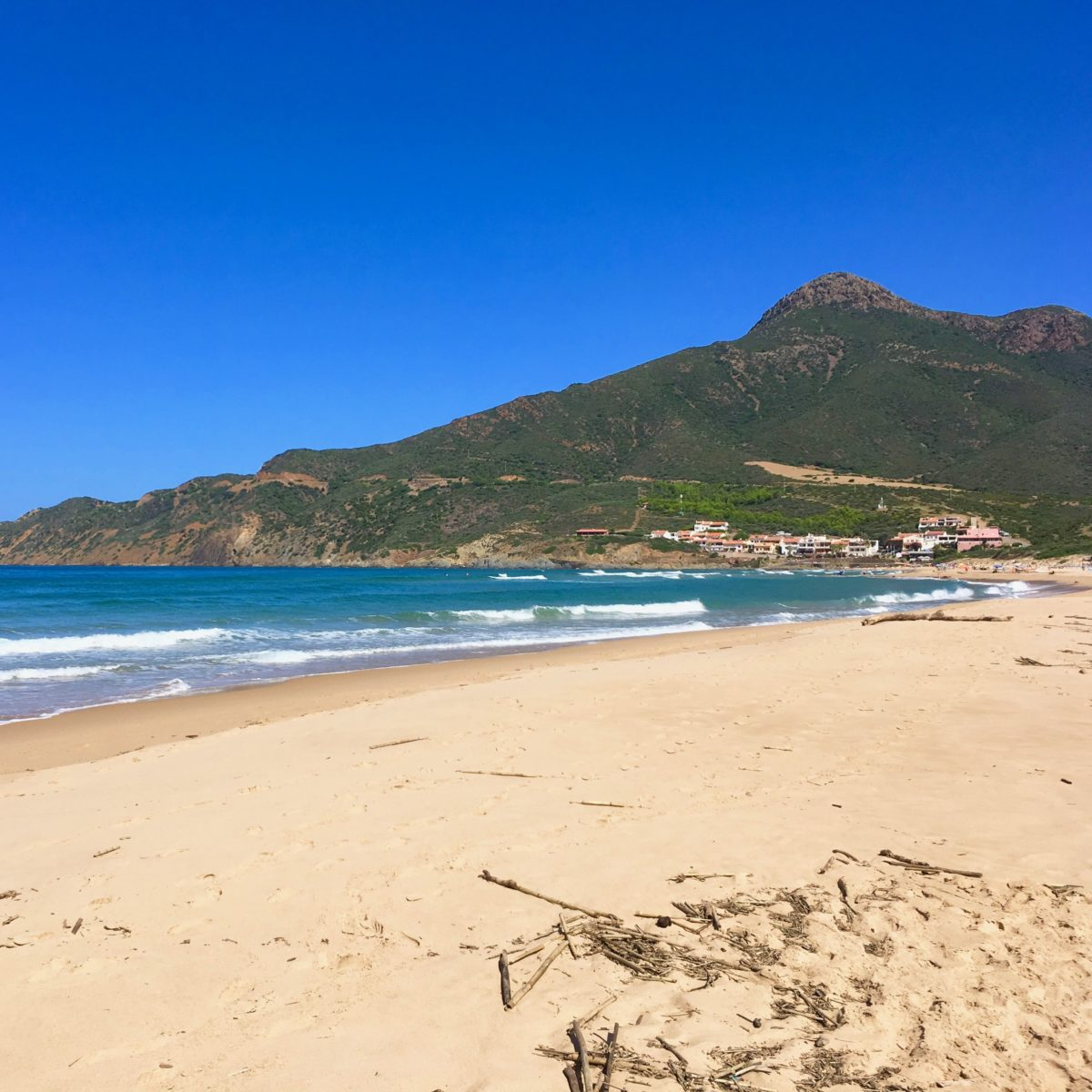 Der Strand von Portixeddu