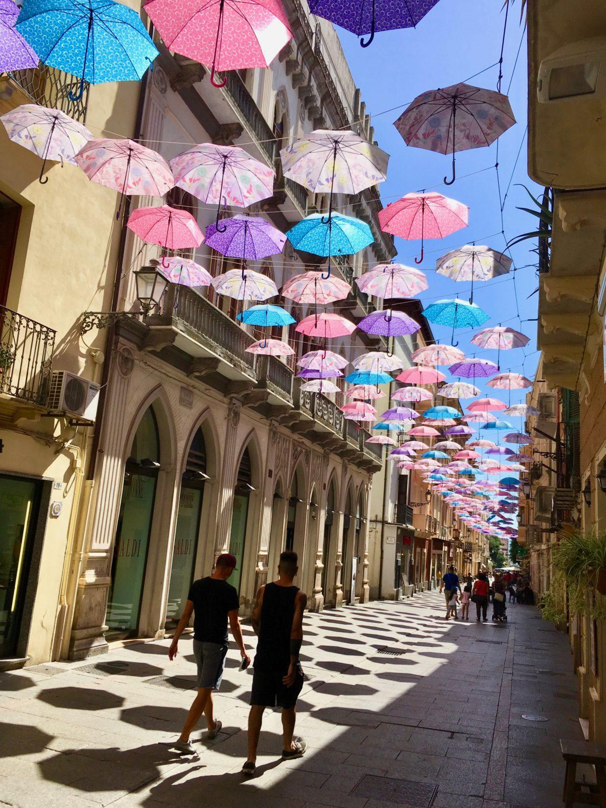 Fußgängerzone in der Altstadt von Iglesias