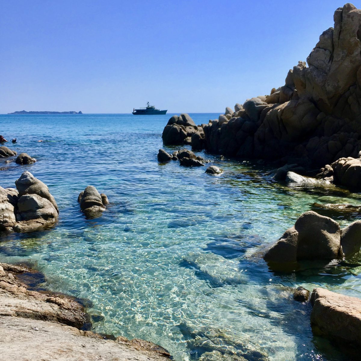 Am Strand von Villasimius