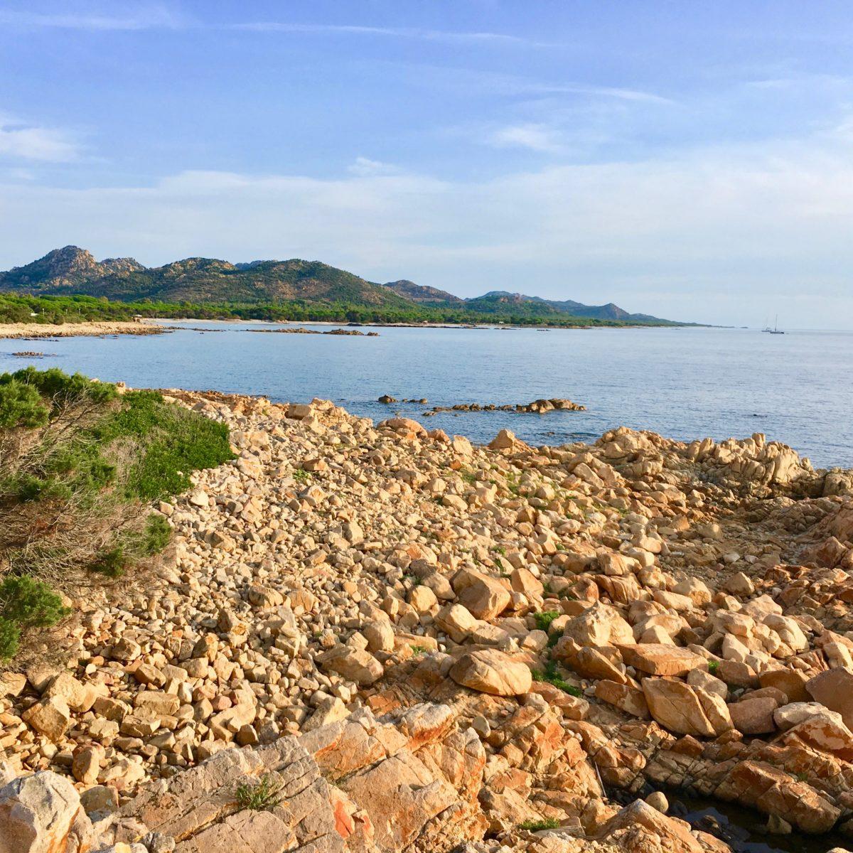 Blick in den Golf von Orosei
