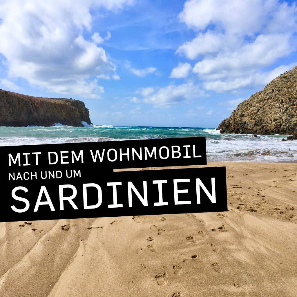 Mit dem Wohnmobil nach und um Sardinien