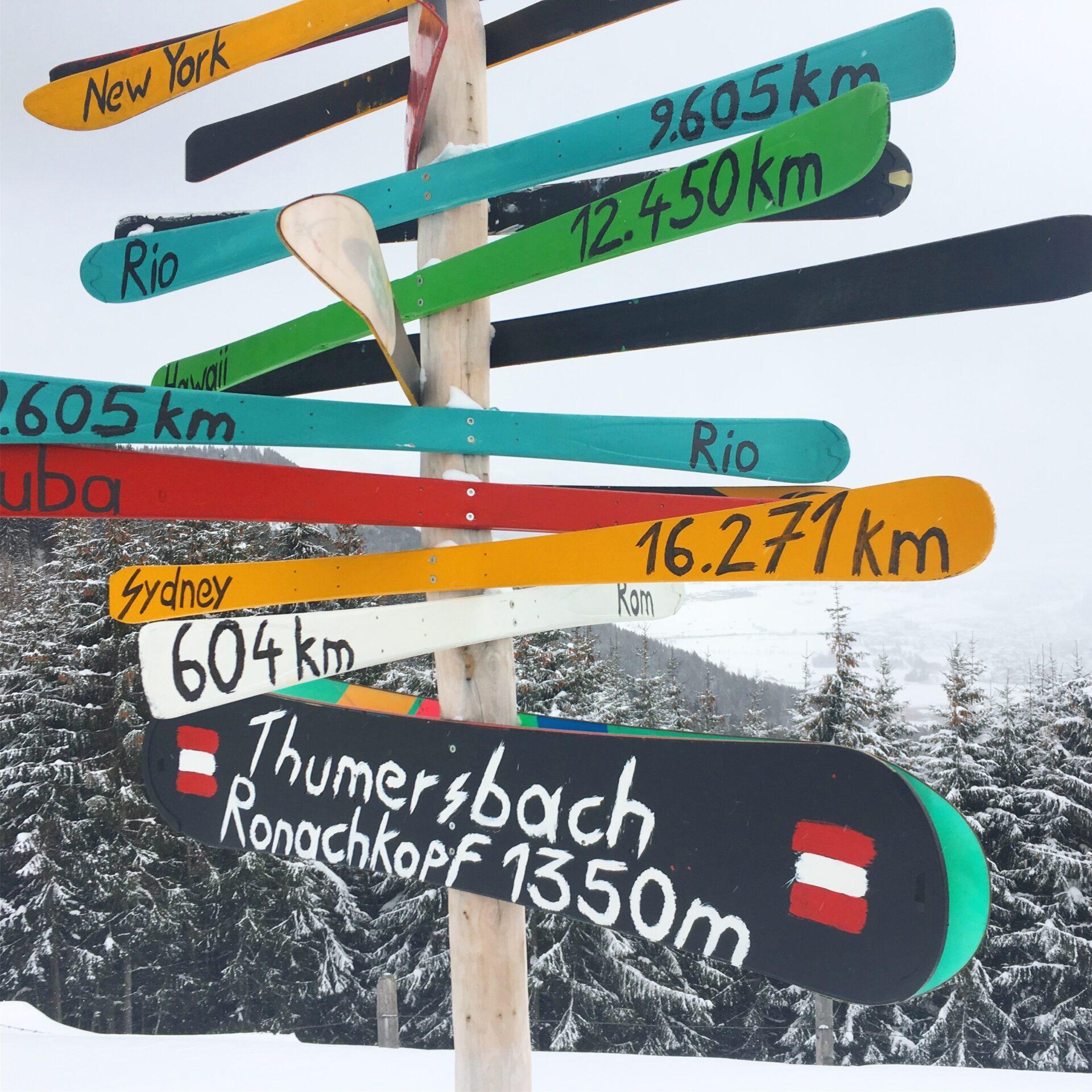 Skitour Ronachkopf Zell am See