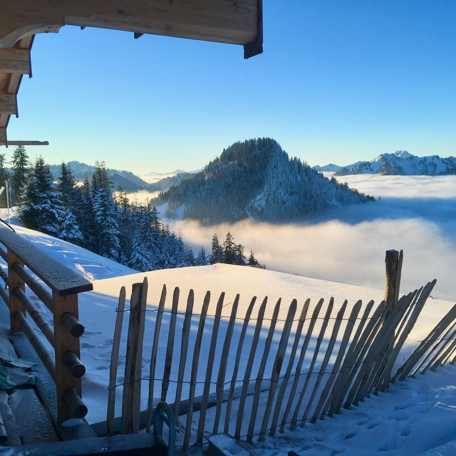 Ausblick über dem Nebelmeer