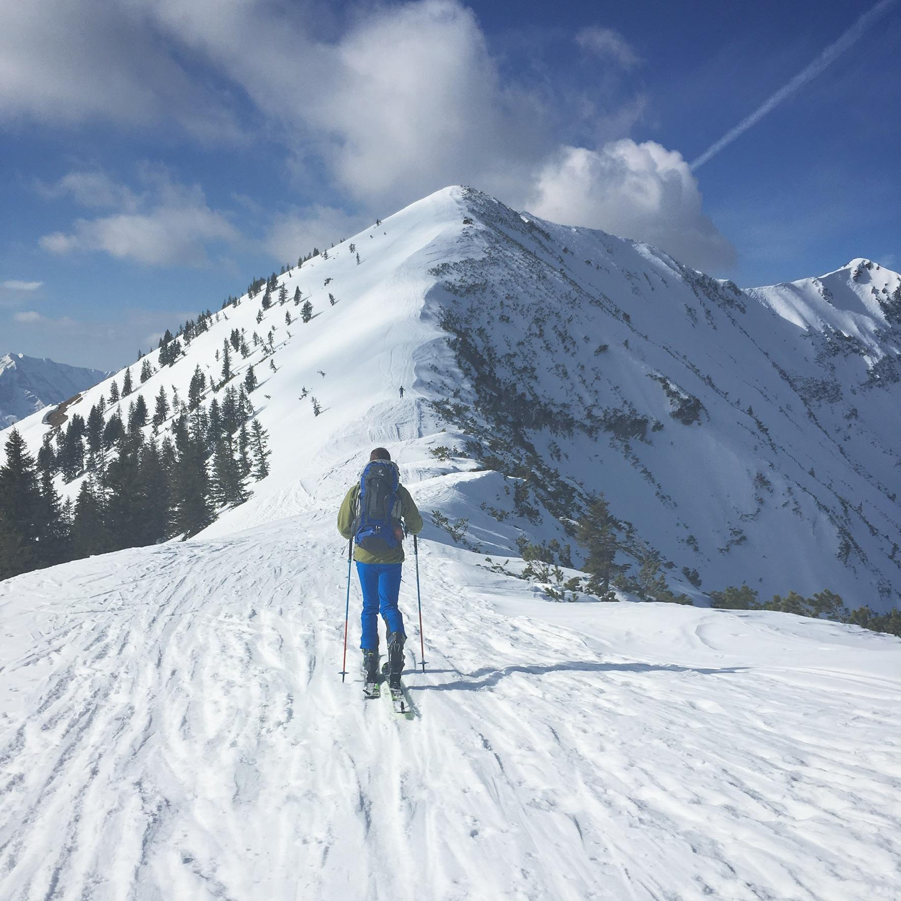Skitour zum Grossen Traithen