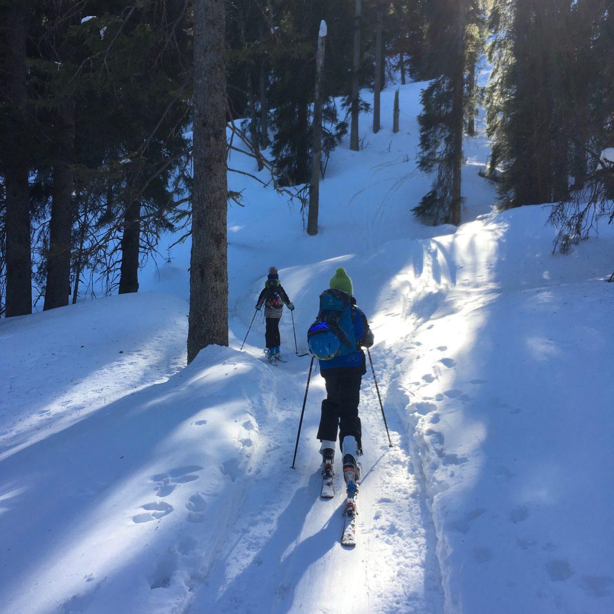Unterwegs zur Stuibenhütte