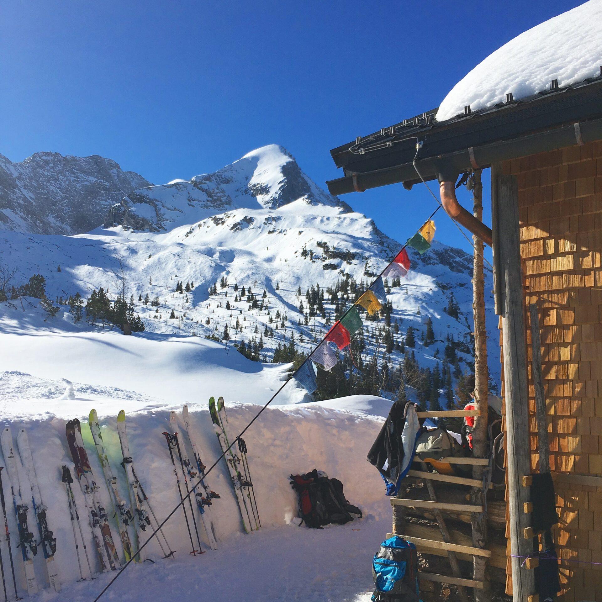 Die Alpspitze von ihrer unbekannten Seite: Von der Terrasse der Stuibenhütte