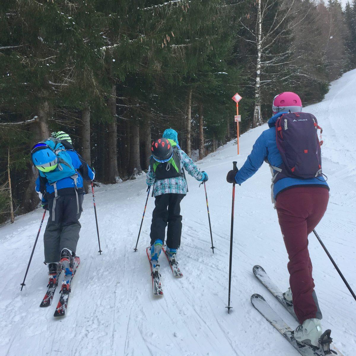 Auf Skitour mit Kindern: Am Ronachkopf bei Zell am See