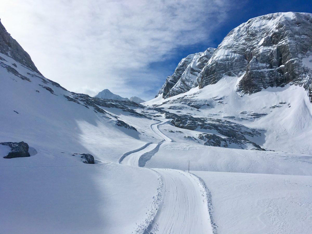 Österreichs Nationalskitour bei besten Verhältnissen