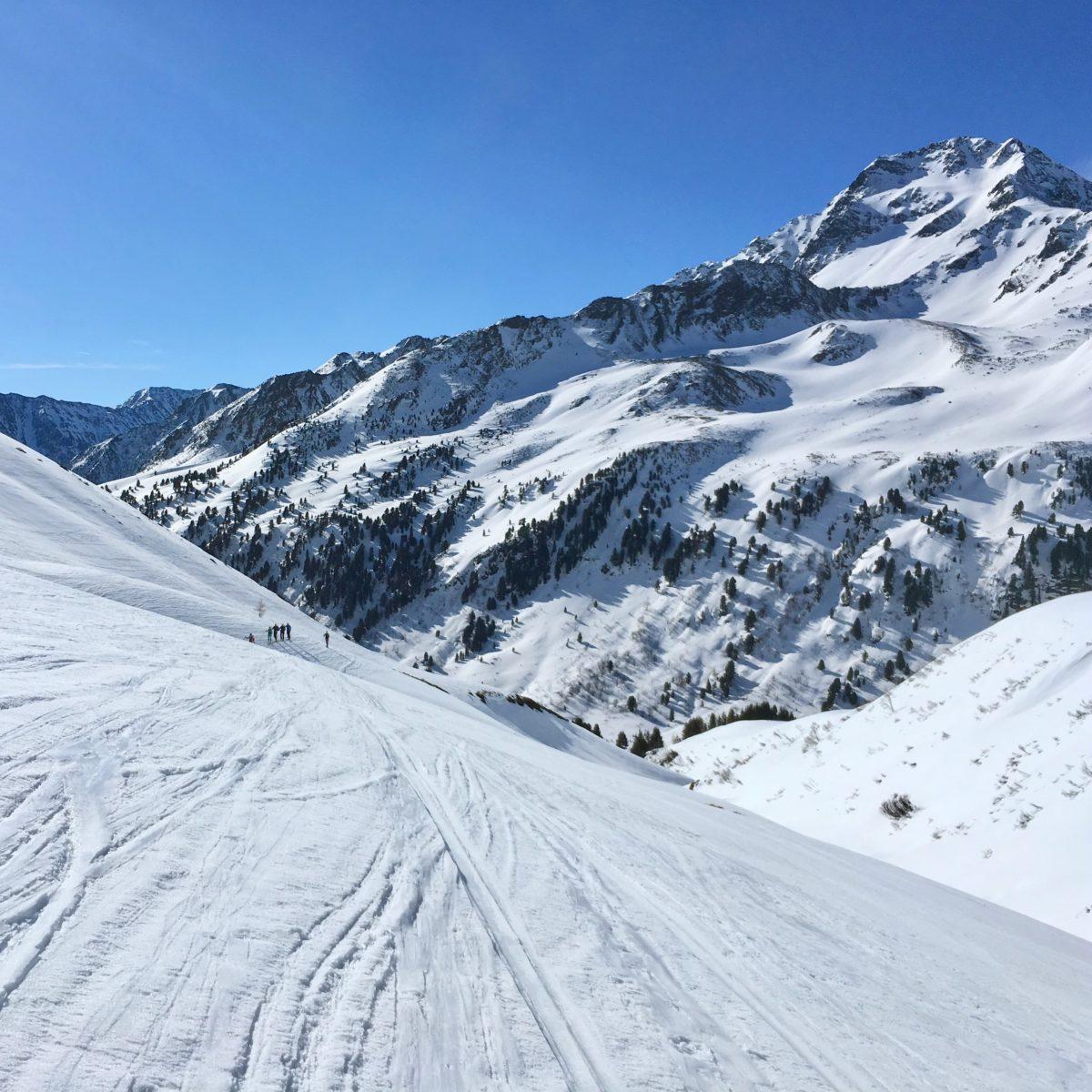 Skitour im Sellrain: Von Kühtai zum Mitterzeigerkopf