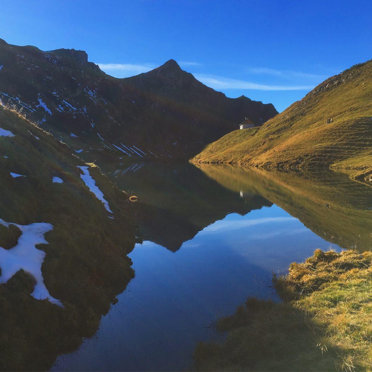 Beliebtes Ausflugsziel: Der Schrecksee von Bad Hindelang