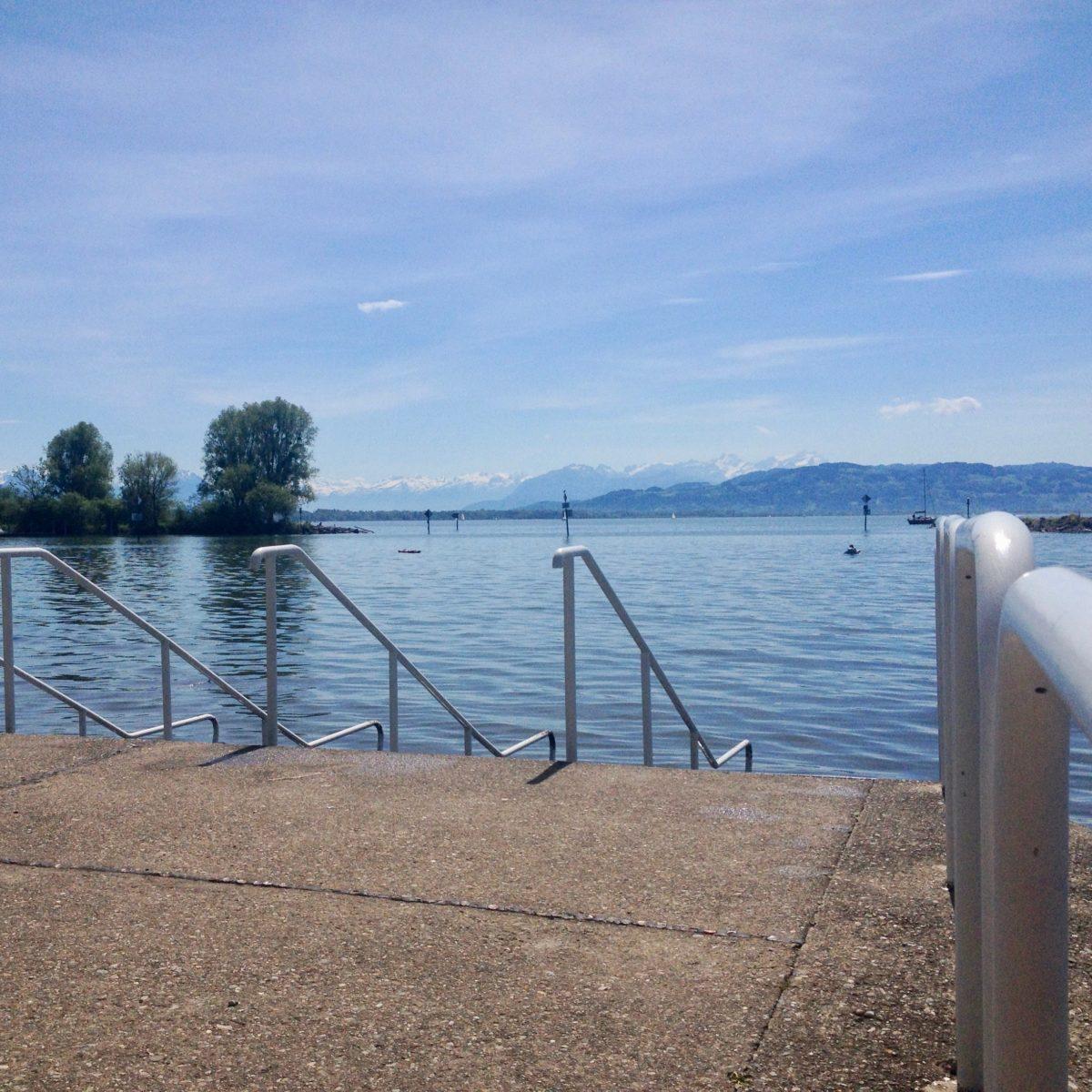 Direkter Zugang zum See: Park Camping Lindau am Bodensee