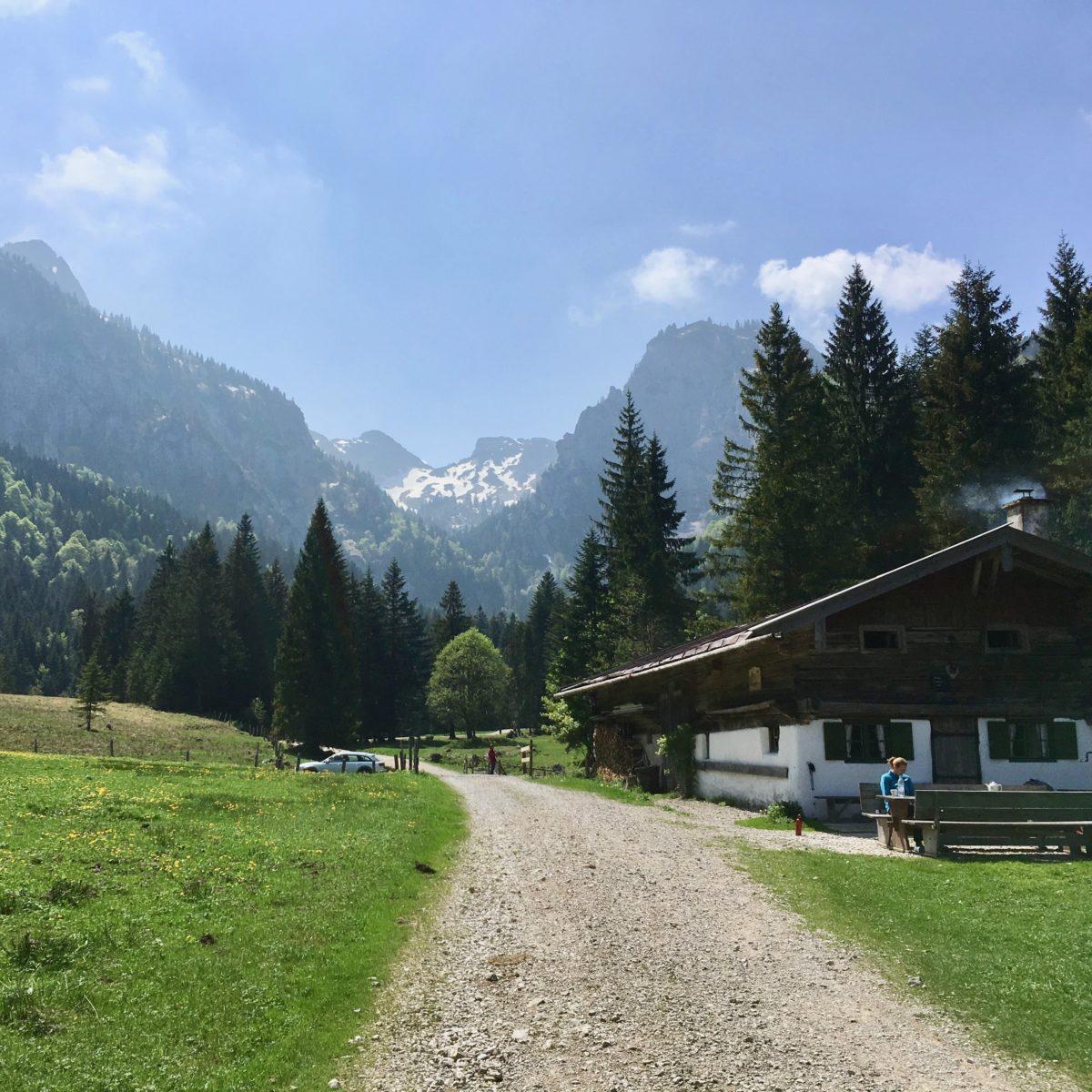 Blick zurück aus dem Längental