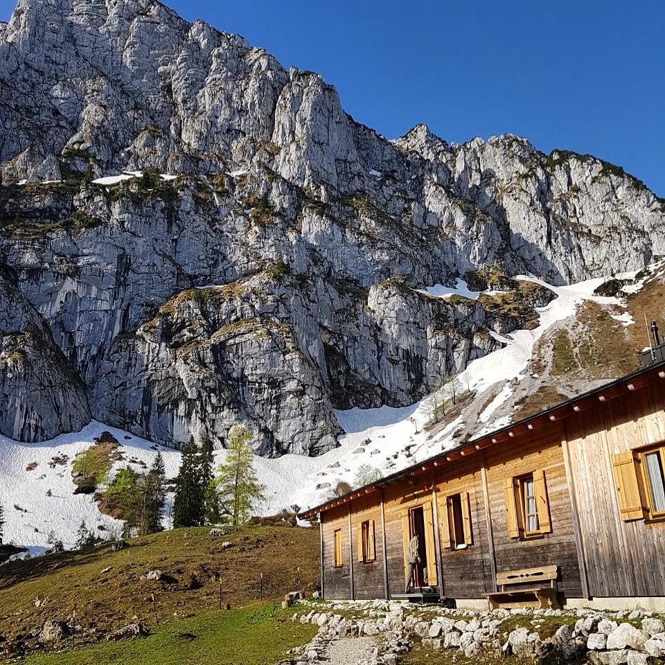 Die Benediktenwand von der Tutzinger Hütte
