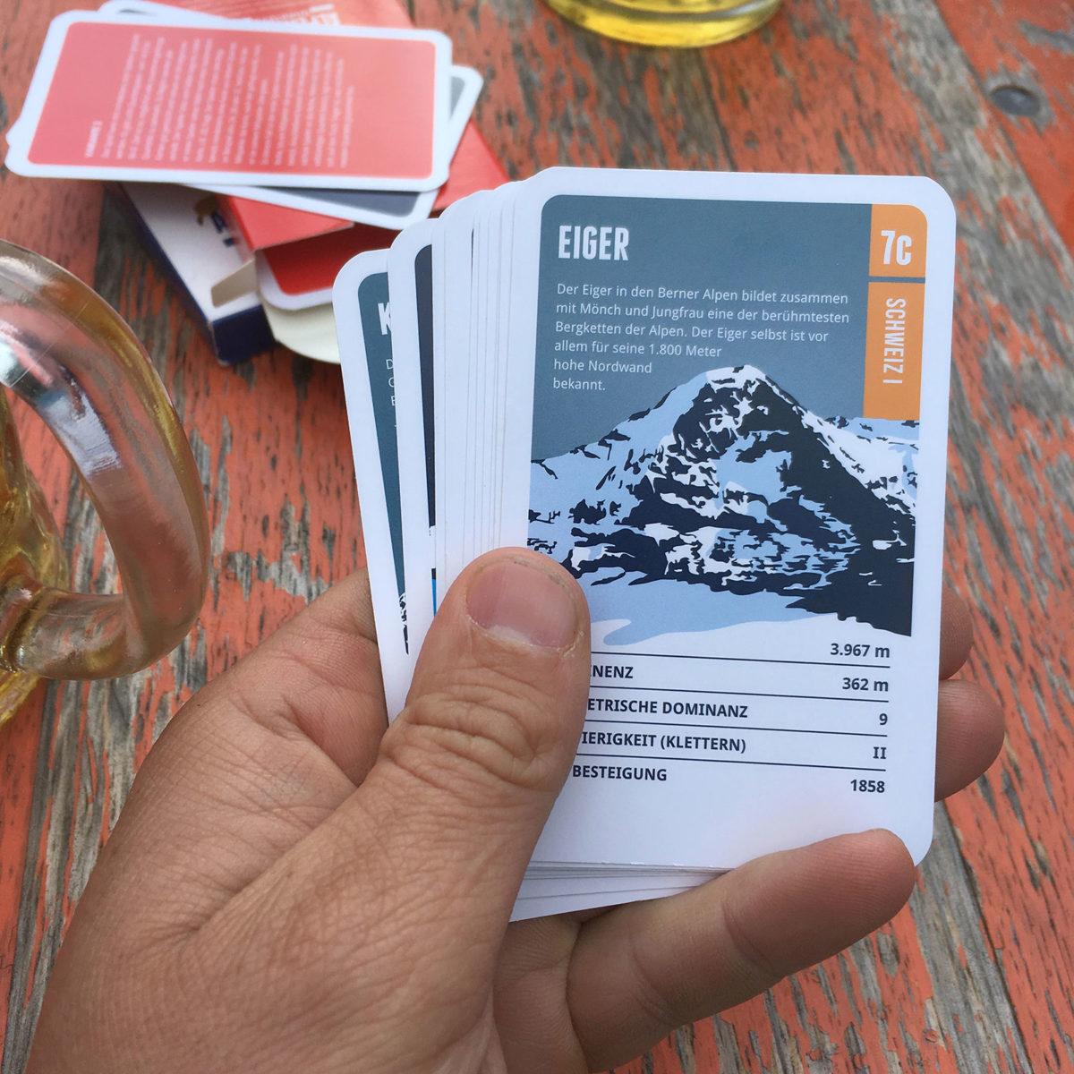 Super Zeitvertreib nicht nur auf der Hütte: Die Quartette von Marmota Maps