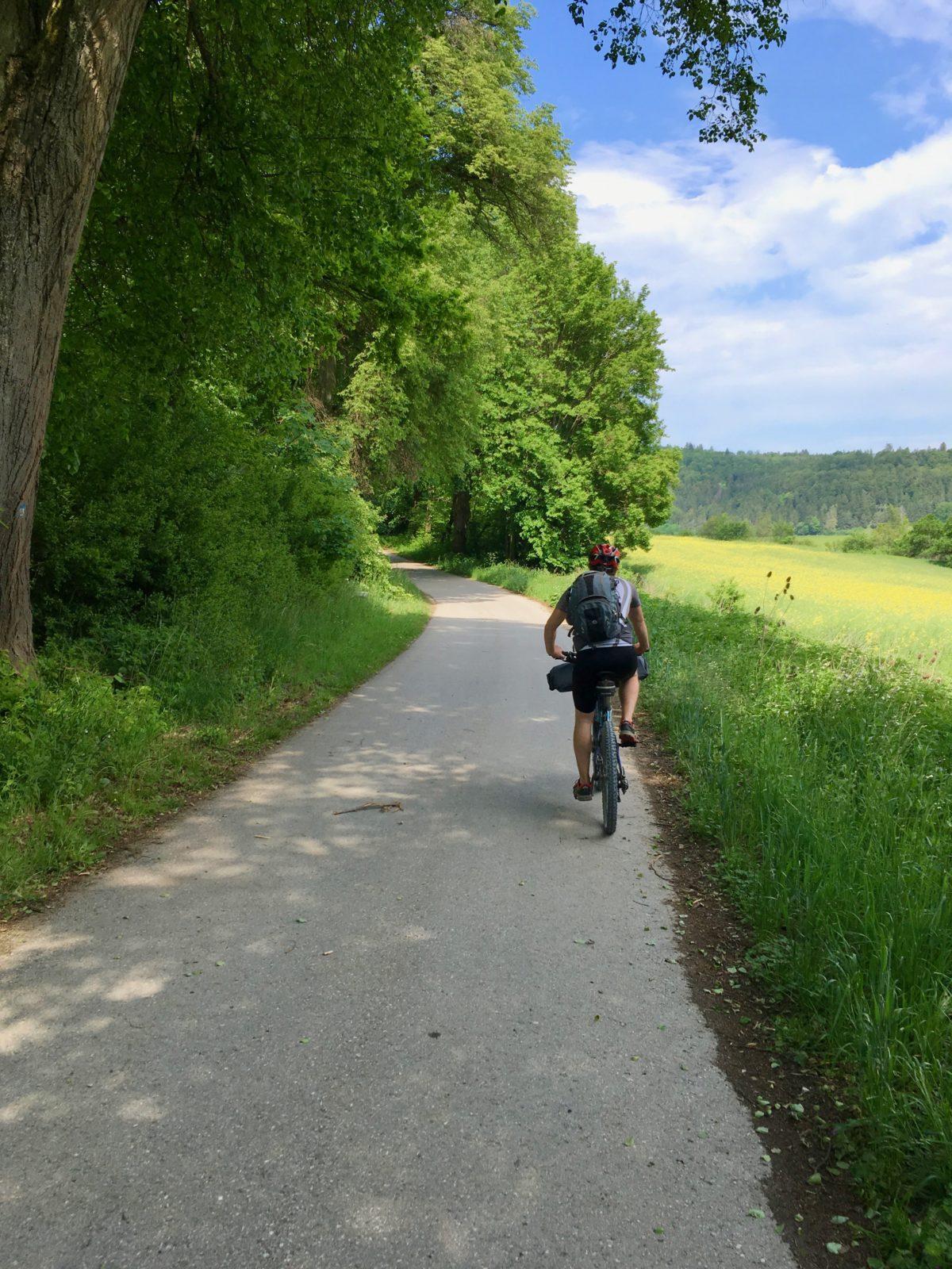 Der Altmühltal-Radweg