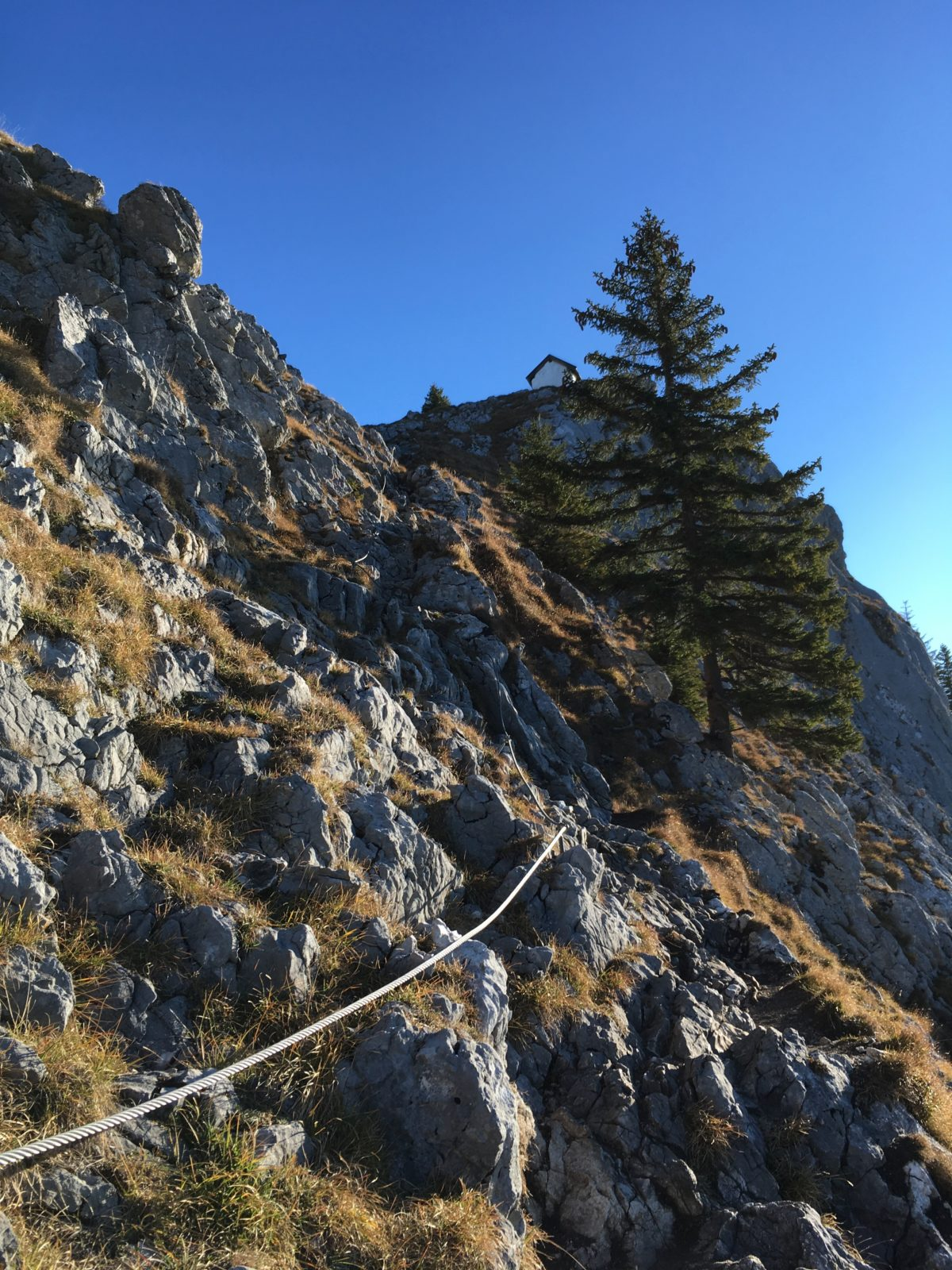 Der Normalweg zum Brünnstein
