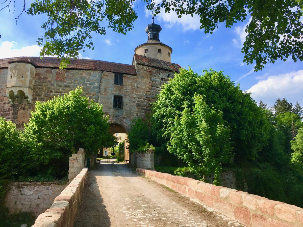 Schloß Sandreuth - ein privates Schloss inmitten des fränkischen Seenlands