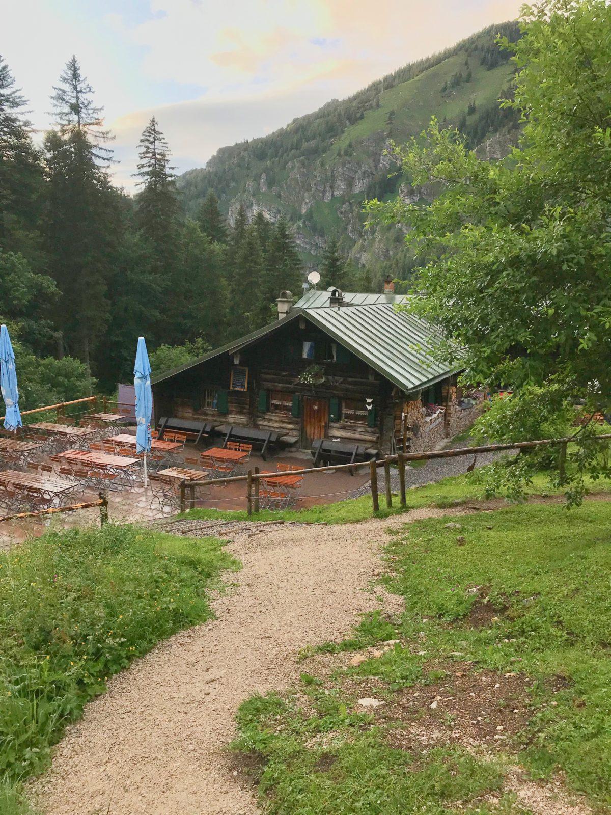 Die Kenzenhütte