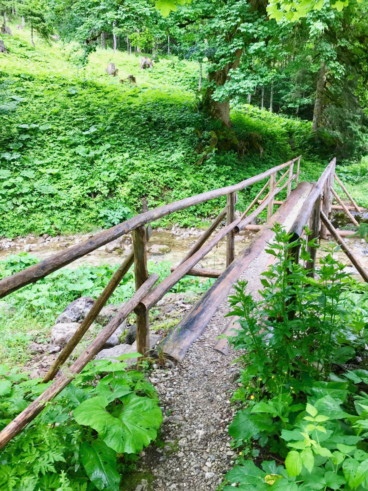 Abstieg nach Schloß Linderhof