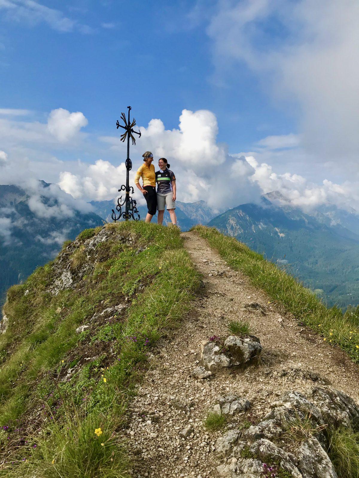 Am Gipfel des Sonnberg