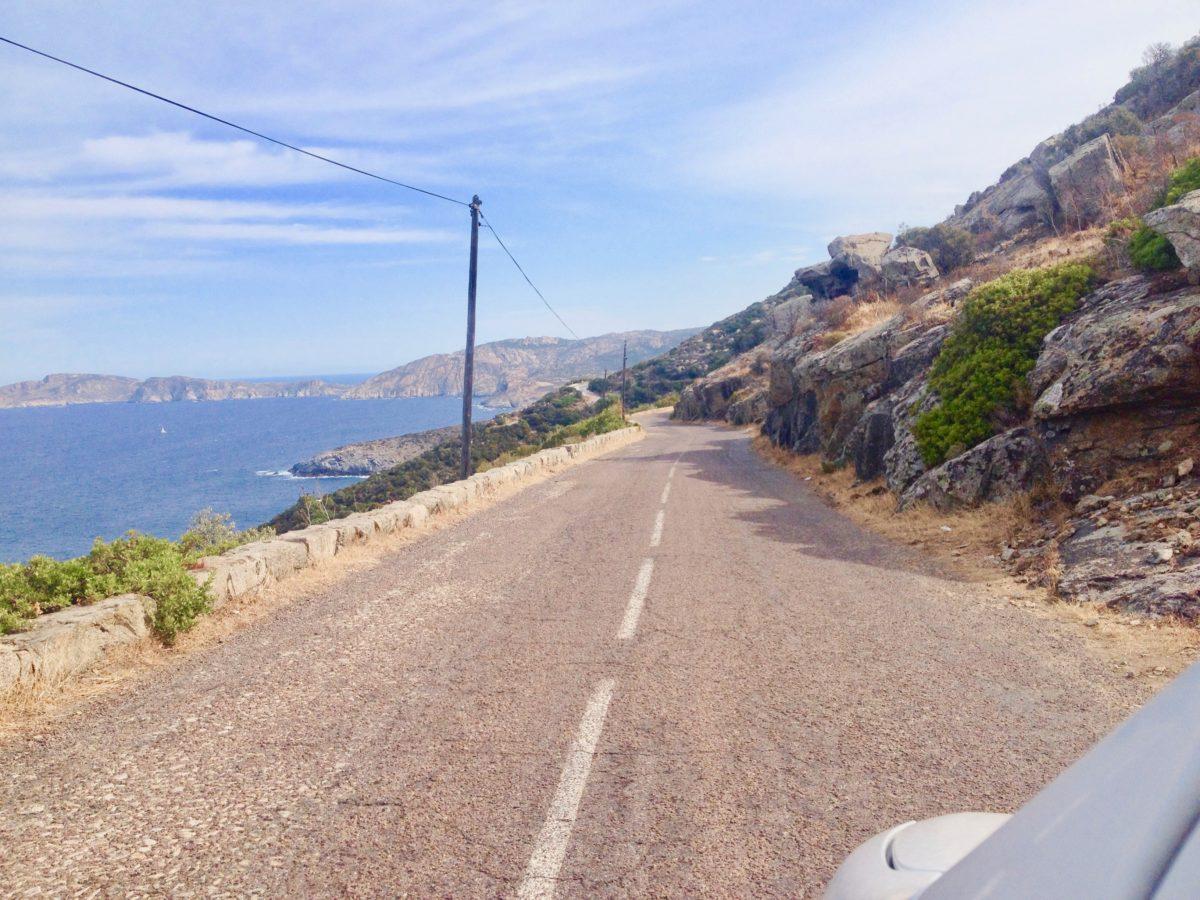 Küstenstrasse zwischen Calvi und Galéria