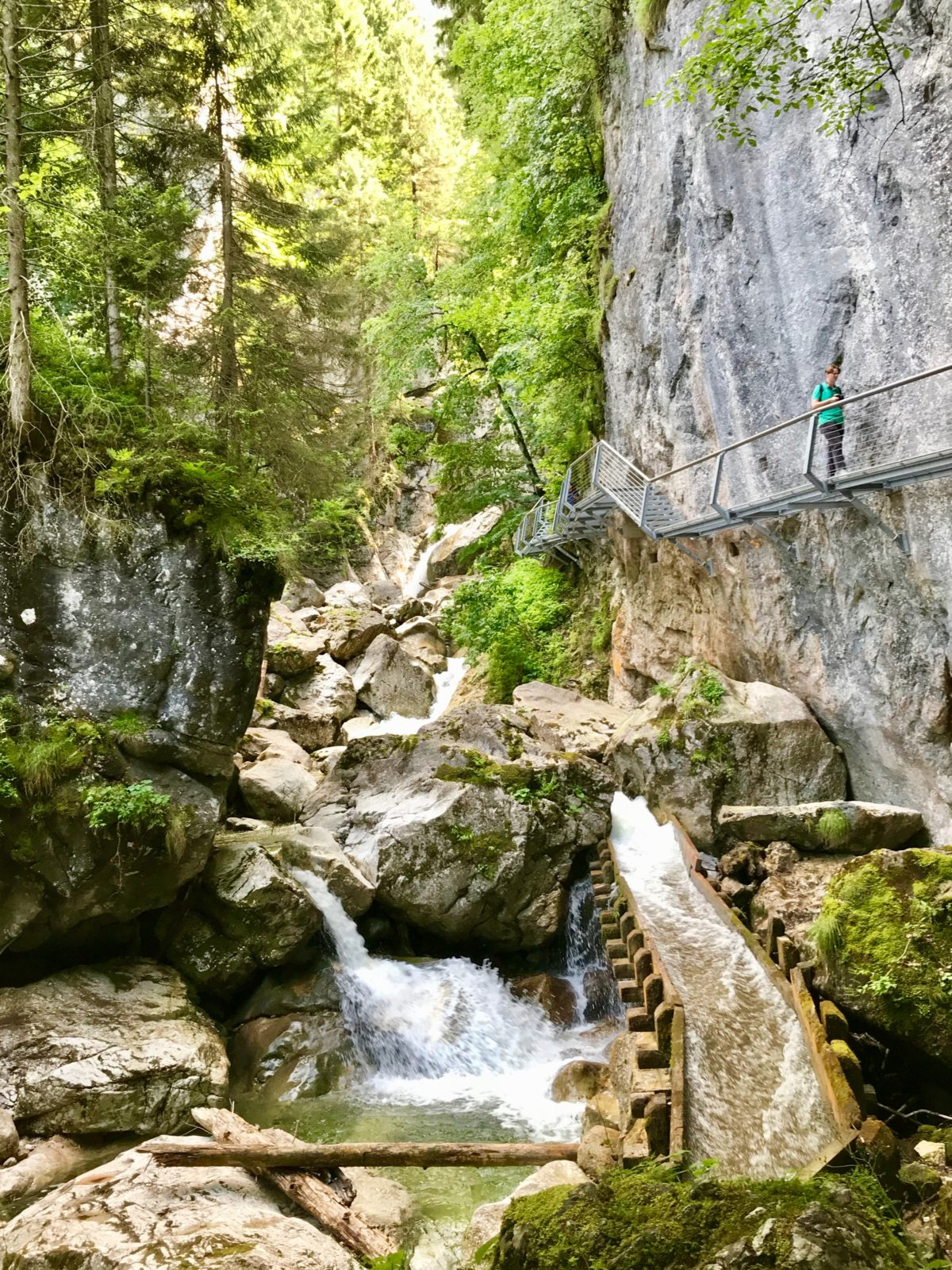 In der Pöllatschlucht unterhalb von Schloß Neuschwanstein