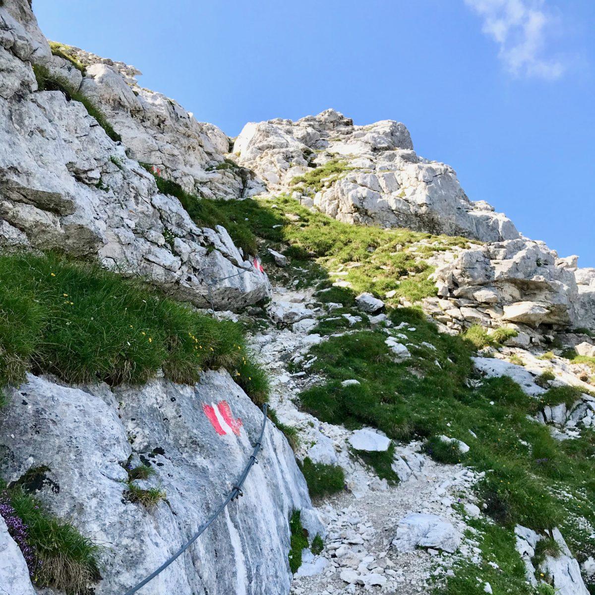 Der kleine Gipfelsteig
