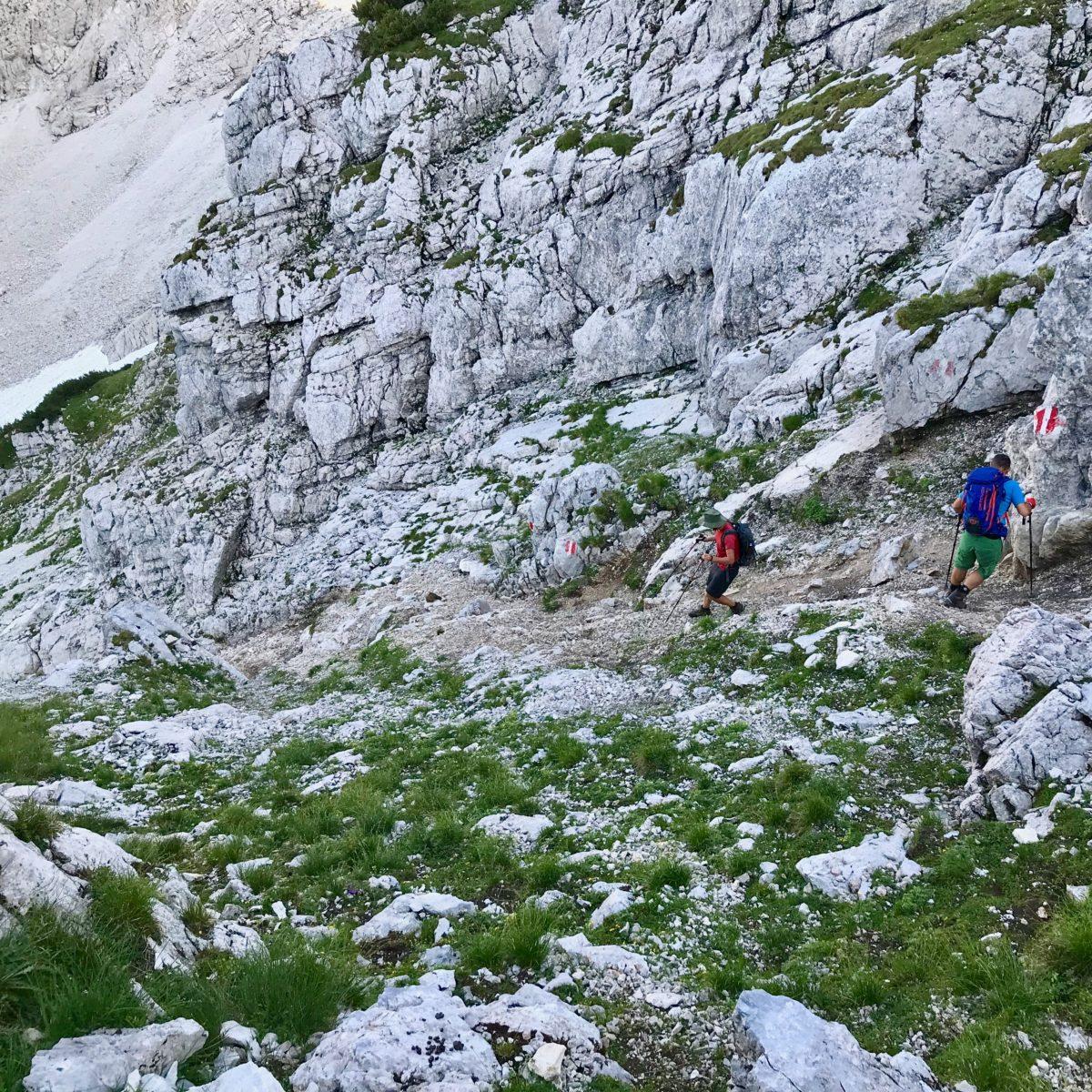 Abstieg über den Normalweg