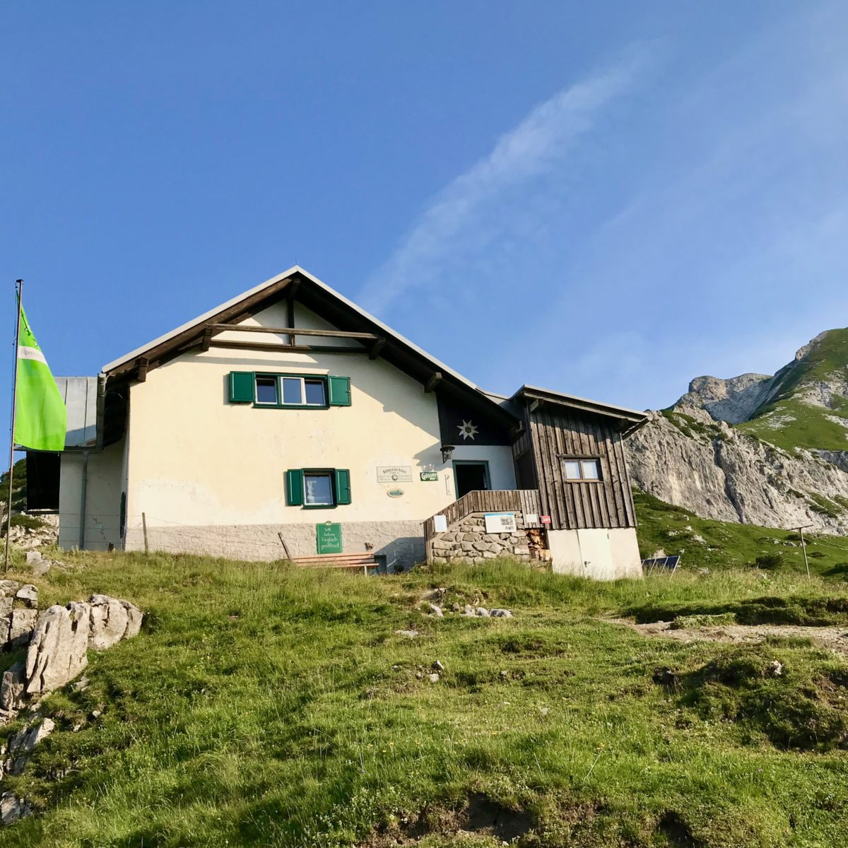 Das Admonter Haus - die höchste Hütte im Gesäuse