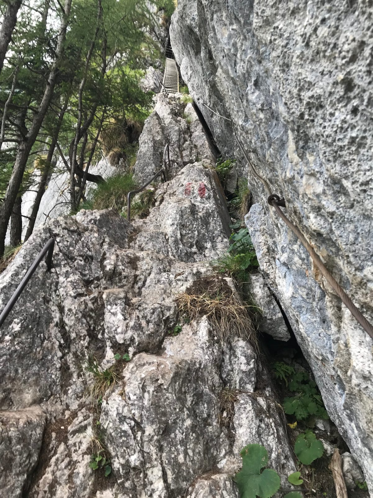 Wasserfallweg-Klettersteig
