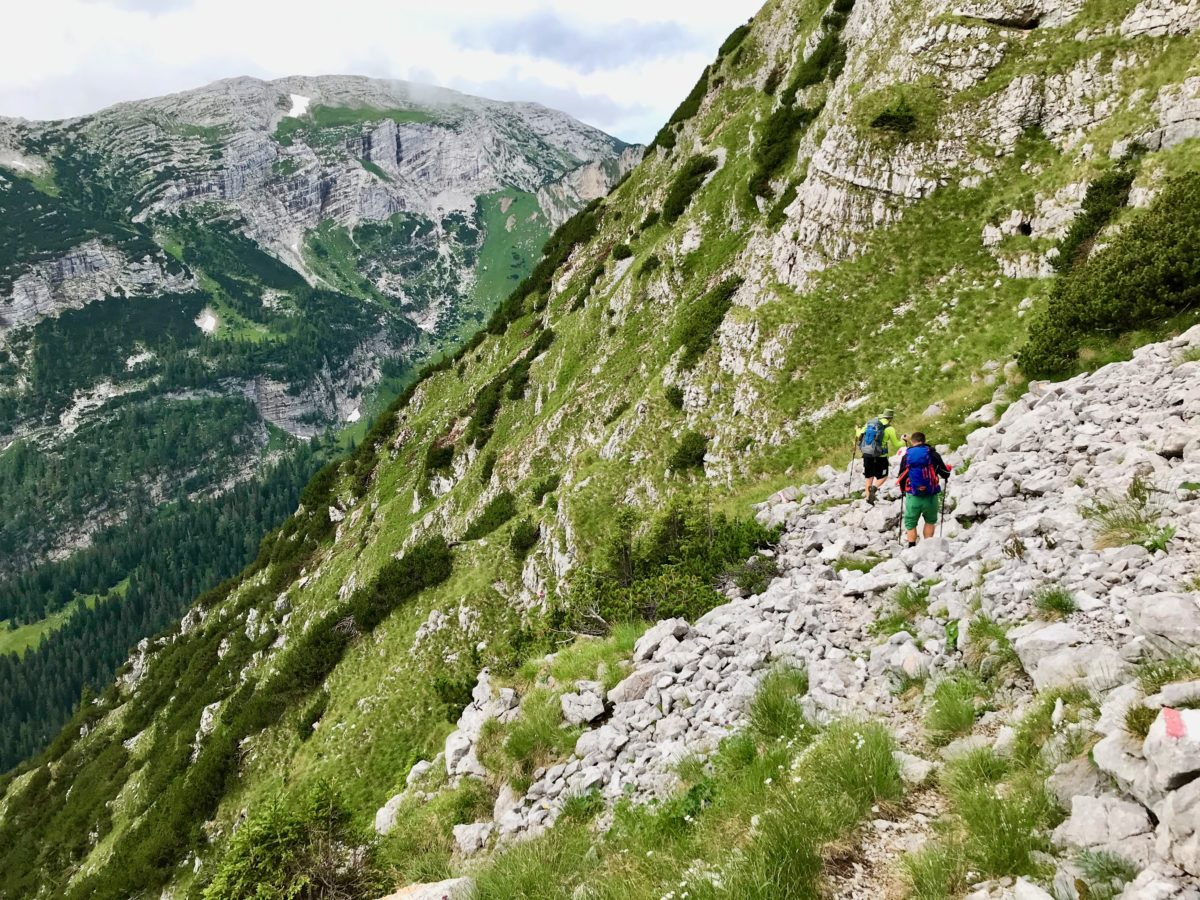 Abstieg in Richtung Sulzkar