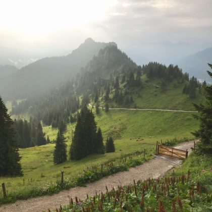 Gratwanderung in vier Tagen von Hohenschwangau/Schloß Neuschwanstein nach Oberammergau: Tegelberg, Kenzenhütte, Brunnenkopfhäuser, Pürschlinghaus,…