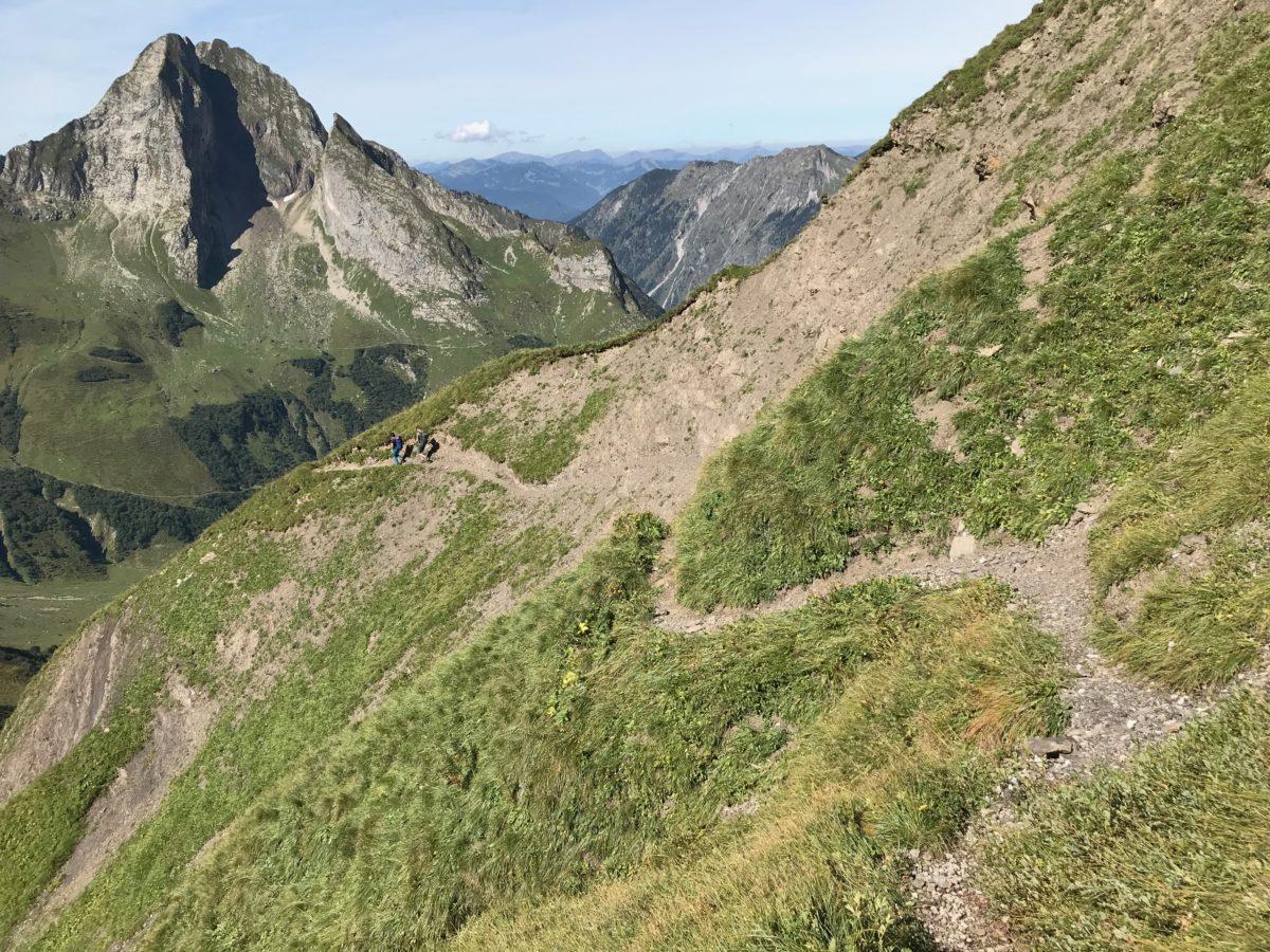 Wandern mit Ausblick: Die Höfats