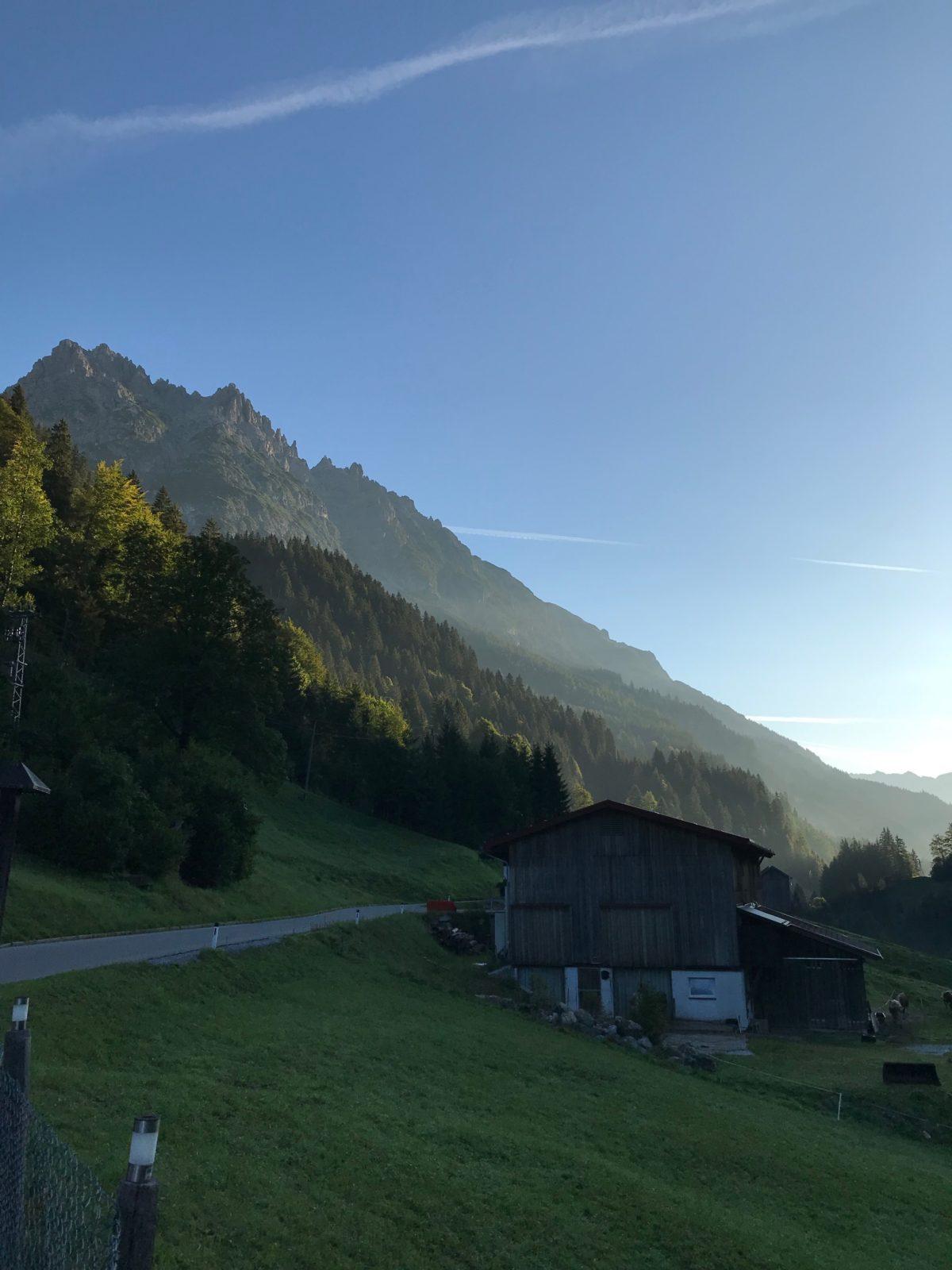 Start in Hinterhornbach