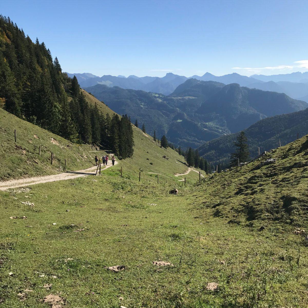 Aufstieg zum Geigelstein von Schleching