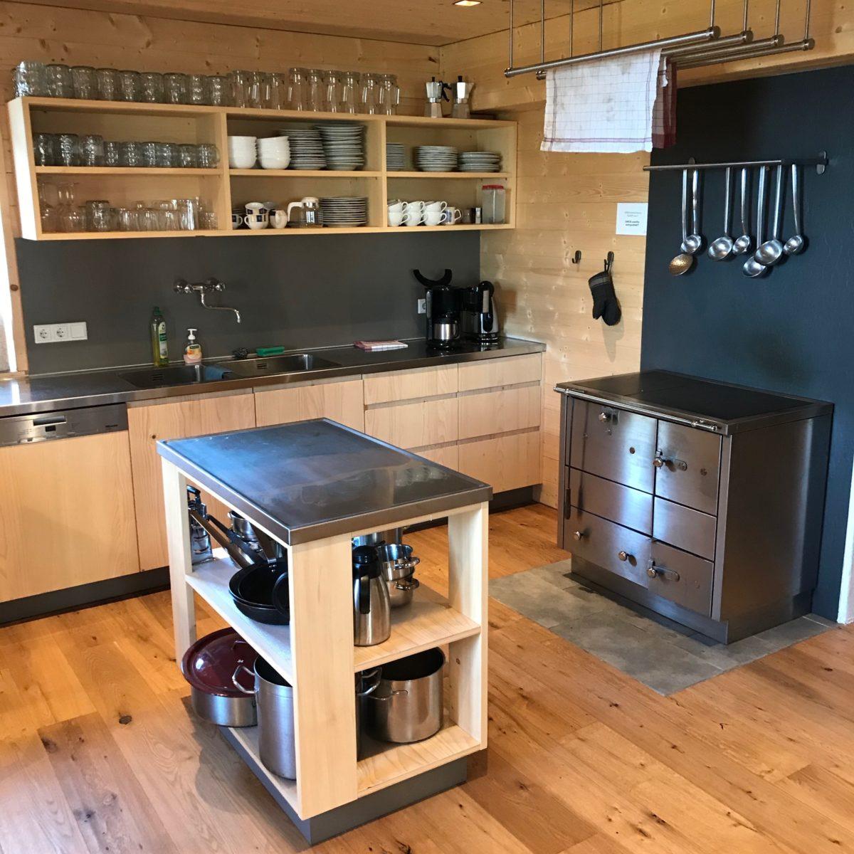 Ausreichend Platz zum Kochen