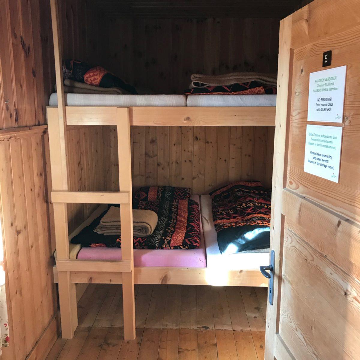 Lager im Happischhaus