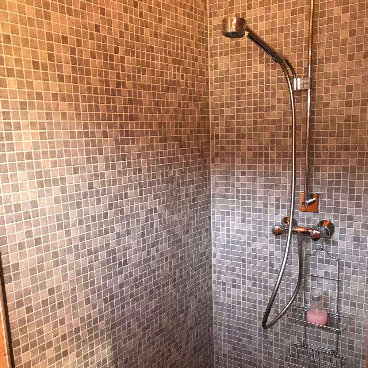 Auch Duschen gibt's…
