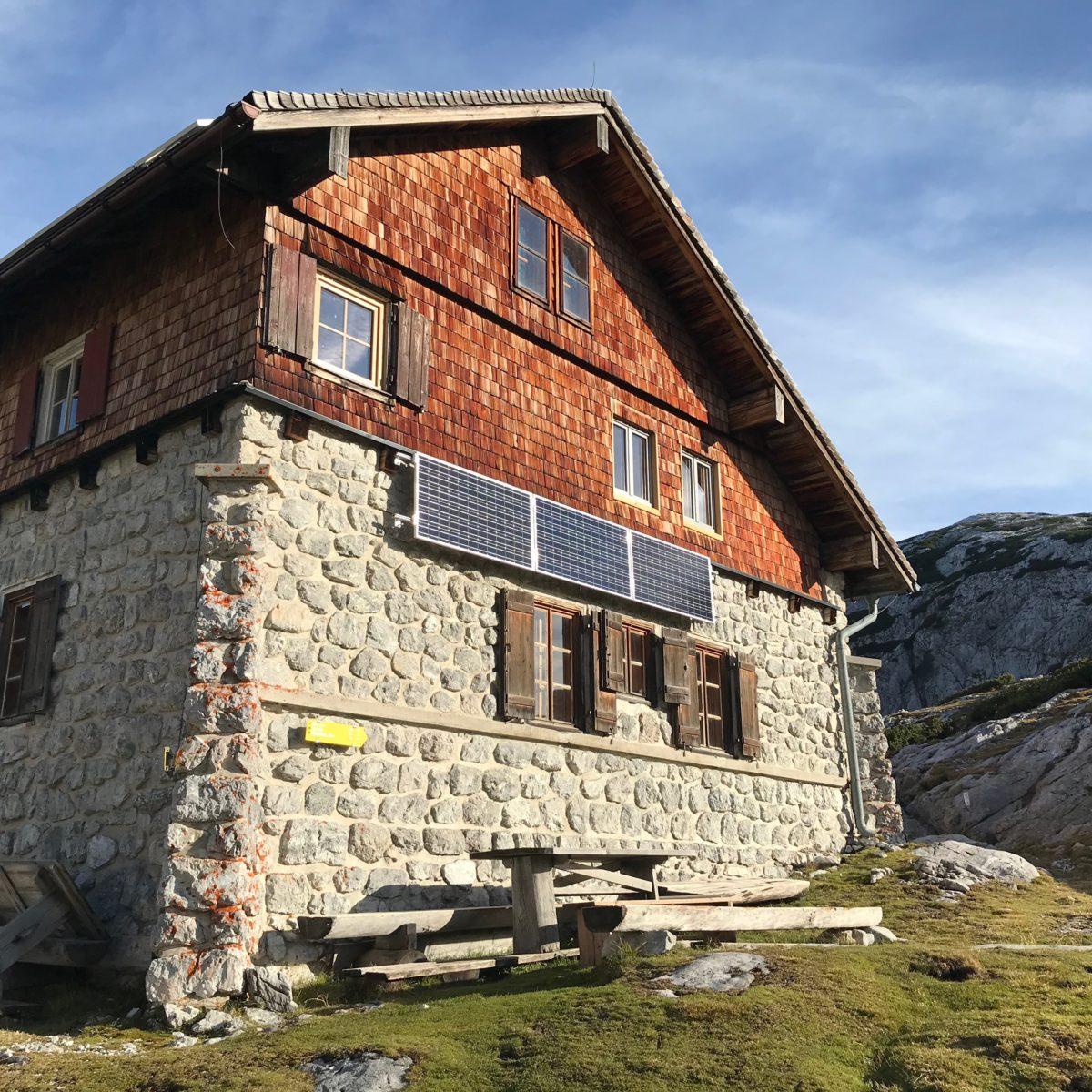 Das Leopold Happisch Haus im Tennengebirge