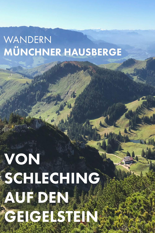 Wandern im Chiemgau - Von Schleching auf den Geigelstein