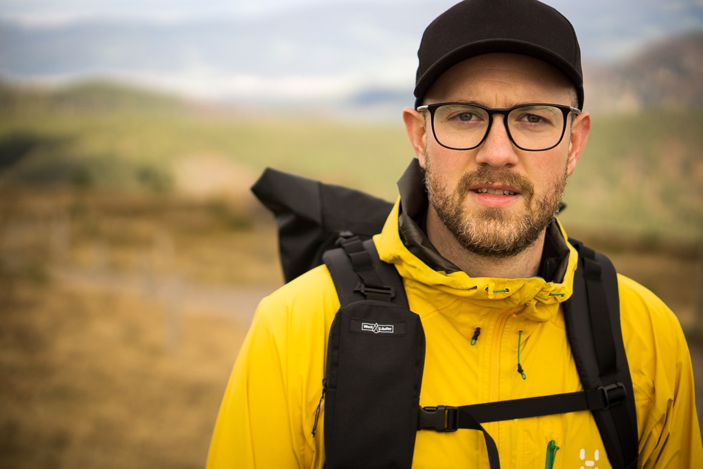 Alexander Düren, Blogger auf bergreif.de und Produzent der WeitLäufer Ultraleicht-Rucksäcke