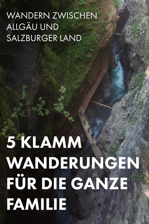 Wandern zwischen Allgäu und Salzburger Land: 5 Klangwanderungen für die ganze Familie