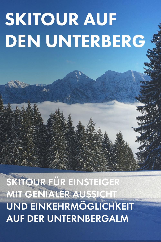 Der Unternberg bei Ruhpolding ist ein lohnendes Ziel für den Skitouren-Einsteiger, für die einfache Tour bei widrigen Verhältnissen oder für die Einkehr auf der Unternbergalm.