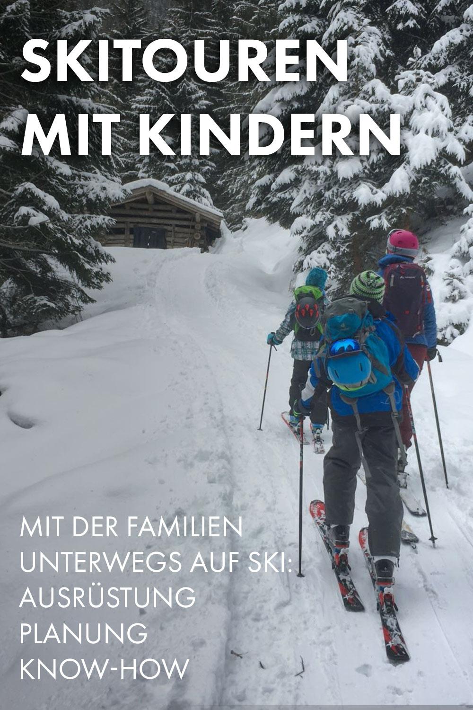 Skitouren mit Kindern