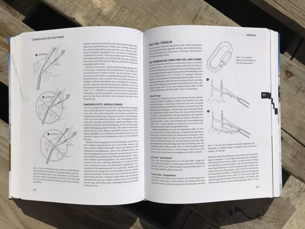 Bergsteigen - Das große Handbuch: Abseilen